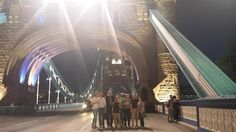 London Bridge with Kathrin, 29 July