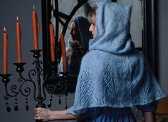 Gray Lady's Cloak Knitting Pattern | Harry Potter inspired Knitting Patterns, many free knitting patterns | These patterns are not authorized, approved, licensed, or endorsed by J.K. Rowling, her publishers, or Warner Bros. Entertainment, Inc.