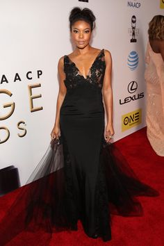 Pin for Later: See Every Gorgeous Arrival at the NAACP Image Awards Gabrielle Union