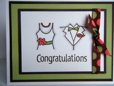 Engagement Card by nancystamps - Cards and Paper Crafts at Splitcoaststampers