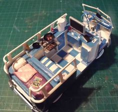 VW Bus Camper Interior | Revell VW Samba Bus conversion 1/24 scale - Page 3 - Work In Progress ...