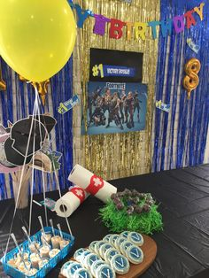 Army Birthday Parties, Mario Birthday Party, 12th Birthday, Birthday Party Themes, Boy Birthday, Birthday Ideas, Birthday Party Centerpieces, Birthday Decorations, Xbox Party