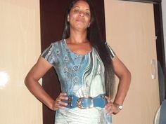 Moda Estilo 5.0 Conceição Loe Souza: Vestido Longo com estampa de pavão