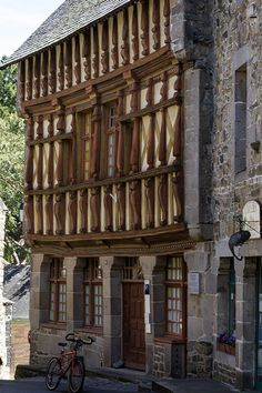 wanderthewood:  Tréguier, Côtes-d'Armor, Brittany, France by Jacques-BILLAUDEL Wonderful Places, Beautiful Places, France City, Fairytale House, Revival Architecture, Brittany France, Beaux Villages, Beautiful Streets, French Cottage