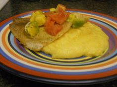 Maiz Moulin ak Poisson (Fish & Grits) - Haitian recipe      http://myhaitiankitchen.blogspot.com/2010/08/maiz-moulin-avec-poisson-fish-grits.html