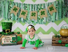 St. Patrick's Day photo session