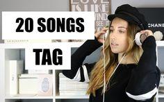 20 Songs TAG // Trendencies Blog. Youtube Video. Trendencies TV