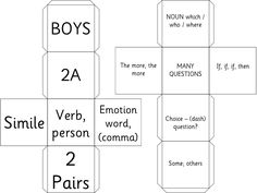 Primary Ideas: Dice for Writing Exciting Sentences by Alan Peat