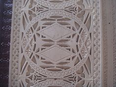 Detail of Louis Sullivan Storefront, 28 S. Wabash, By juggernautco (flickr) #pattern_architecture #pattern_sculpture