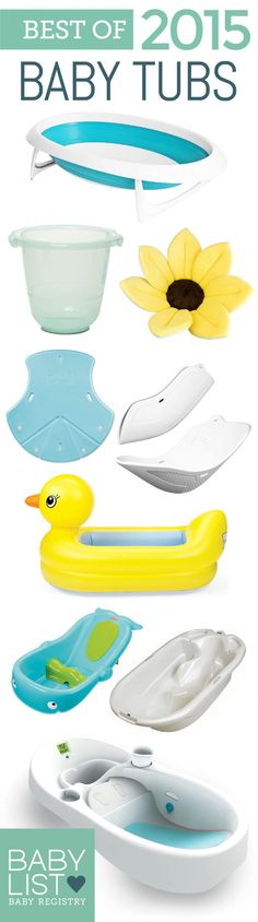 Baby Bath with Drain and Thermometer Animals Bunnies Theme White