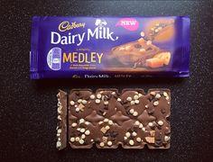 NEW REVIEW: New Cadbury Dairy Milk Medley Fudge. #cadbury #dairymilk #review #foodblog #blog