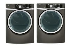 """GE 28"""" Front Load GFWS2605FMC Washer and GFDS265EFMC Dryer #GE"""