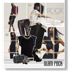 """""""Glam Rock"""" by hieuanh on Polyvore"""