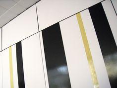 Folierung eines Einbauschranks. Flag, Art, Dortmund, Pictures, Art Background, Kunst, Science, Performing Arts, Flags