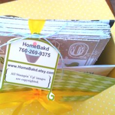 Packaging makes perfect! Everything leaves my shop sweetly wrapped!   Www.homebakd.etsy.com