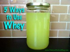 5 Ways to Use Whey