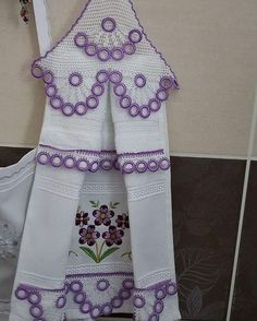 This Pin was discovered by LalNo photo description available.Image gallery – Page 718042734316354285 – Artofit Baby Knitting Patterns, Bobbin Lace Patterns, Crochet Patterns, Crochet Towel Topper, Crochet Kitchen, Irish Lace, Filet Crochet, Learn To Crochet, Embroidery