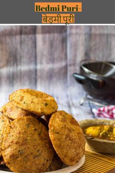 Bedmi Puri Recipe-How to make Bedmi Puri - Kali Mirch - by Smita