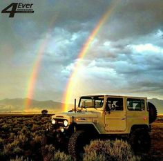 To the end of the rainbow. #Travel #Challenge #Fun #Adventure #OffRoad #Explore