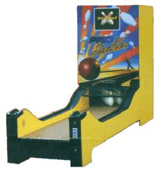 bowling machine arcade
