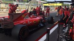 Belgian Grand Prix: First Free Practice Results