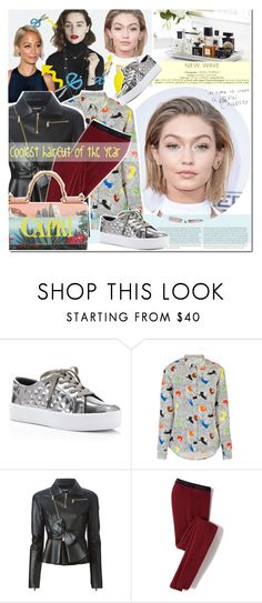 """""""Coolest haircut of the year..."""" by elena-starling ❤ liked on Polyvore featuring Rebecca Minkoff, Paul & Joe Sister, Dsquared2, Icebreaker, Dolce&Gabbana, hair, gigihadid and fallwinter2015"""