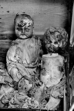 Abandoned Asylum Just a thought: Who provided these dolls for the children? Was is someone who loved and understood children enough to give them what they needed?