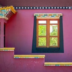 Detalhe do Templo Budista em Três Coroas - RS by san_doyama