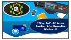Try some best fixes to resolve any kind of MS Access problems after upgrading Windows 10. Also know what problem occurs in Microsoft Access after Windows 10 Update. Ms Office Applications, Upgrade To Windows 10, Microsoft Office