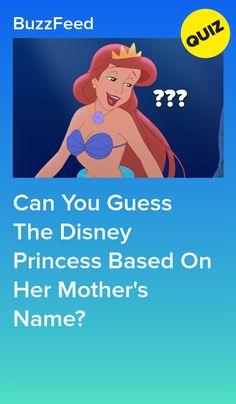A lot of these princesses have complicated families. Princess Quizzes, Disney Princess Names, Funny Princess, Disney Test, Disney Quiz, Disney Fun Facts, Disney Jokes, Punk Disney, Disney Buzzfeed