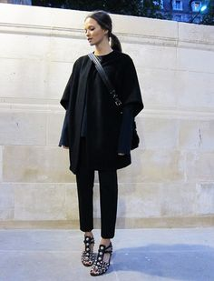 Chic all black