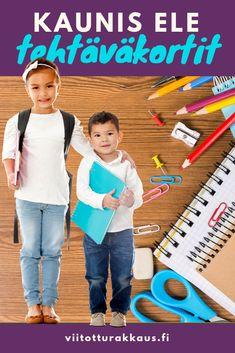 Lasten kiitollisuuspäiväkirja - Viitottu Rakkaus Pre School, Grade 1, Special Education, Good To Know, Mindfulness, Classroom, Teaching, Feelings, Kids