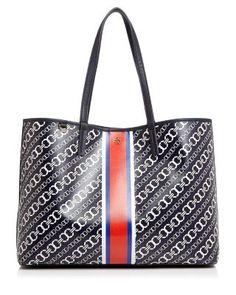 TORY BURCH Gemini Link Tote. #toryburch #bags #hand bags #pvc #tote #