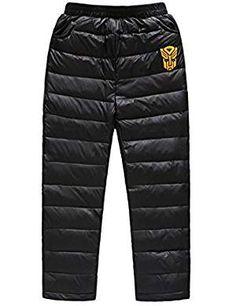 Ellove Chic Unisex Children Long Down Pants Comfortable Warm Beltless Snow Pants Snow Wear, Snow Pants, Boy Fashion, Latest Fashion Trends, Parachute Pants, Image Link, Bring It On, Warm, Unisex