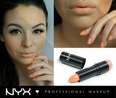 "Orange Inspiration! NYX Round Lipstick στην απόχρωση ""Orange Soda"" (LSS588)."