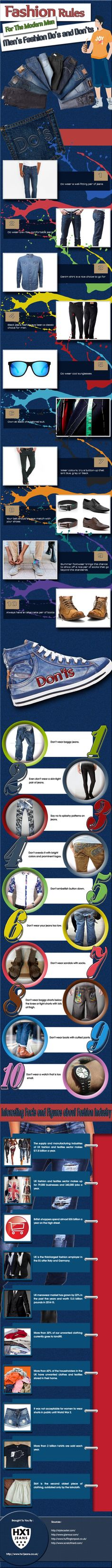 Fashion Rules For The Modern Man
