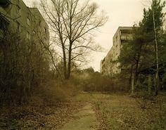 Nadav Kander - Chernobyl, Half Life - Pathway, Pripyat