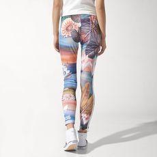 adidas - Calça Legging 3-Stripes Curso d'Água FARM