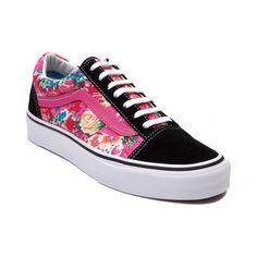 Vans Old Skool Floral Skate Shoe