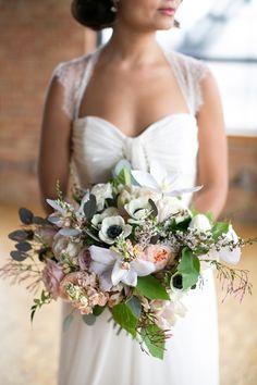 romantic bouquet | Christy Tyler Photography | Glamour & Grace