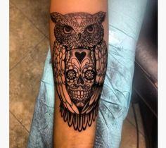 12 Amazing Owl Tattoos Ideas