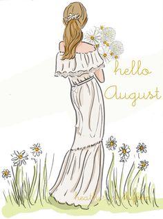 Rose Hill Design - Hello August