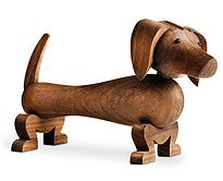 ohwhatsthis|childrens room|london wooden sausage dog figurine #ohwhatsthis