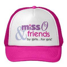 Let everyone know you are a fan of @MissOandfriends! www.zazzle.com/shopmisso/hats #shopmisso