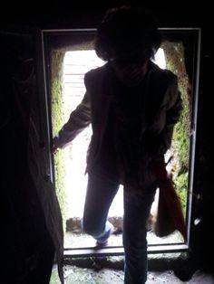 Ingresso nella Tomba Etrusca #invadiamoilmuseomanzi