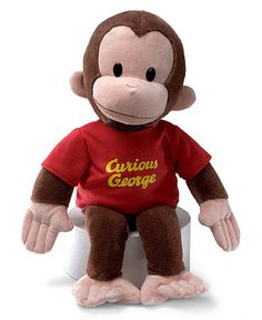 "Gund® Kids Toys, 16"" Curious George Toy - Macy's $25"