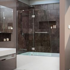 european half hinged shower doors hinged half shower door main bathroom pinterest door hinges shower doors and doors - Tub Shower Doors