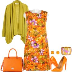 orange bag 1, created by cm65 on Polyvore