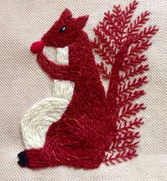 Squirrel by Enid Peutherer