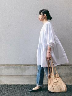 Fashion Mode, Minimal Fashion, I Love Fashion, Hijab Fashion, Fashion Outfits, Womens Fashion, Fashion Design, Estilo Muji, Muji Style